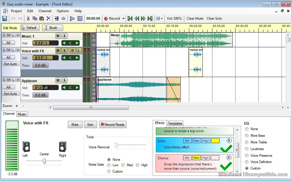 Easy audio mixer 2 1 1 Free download